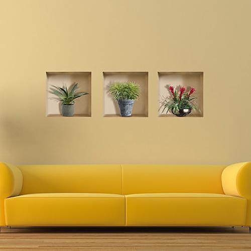 3D Наклейки 3D наклейки Декоративные наклейки на стены, Винил Украшение дома Наклейка на стену Стена