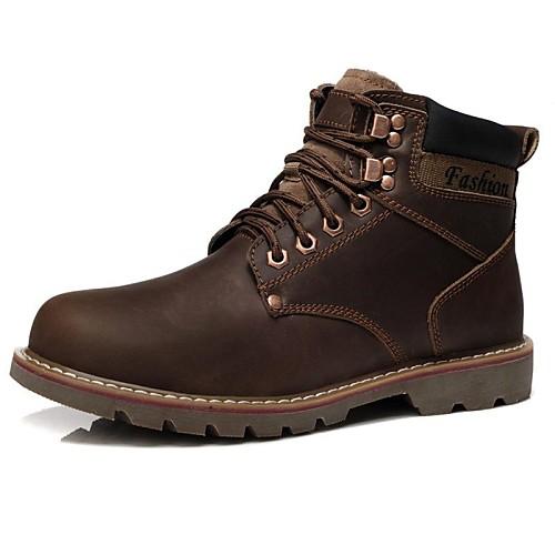 мужская обувь модные сапоги круглый носок плоским пятки теленок волосы ботильоны больше цветов