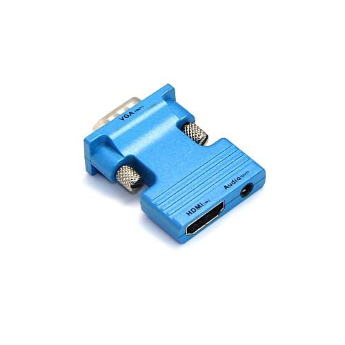 lwm HDMI Женский к VGA мужчин и 3,5 мм аудио выход адаптера для ПК ЖК soaiy saaiy sa 115 улучшен аудио аудио аудио домашний кинотеатр беспроводной bluetooth эхо стена soundbar audio