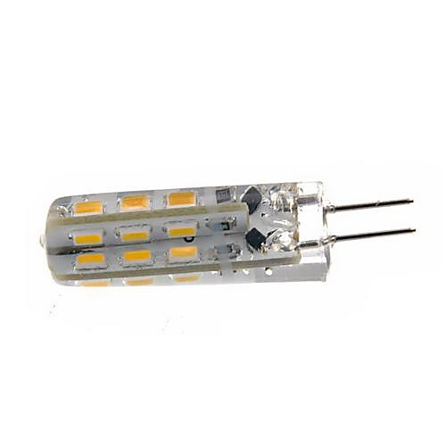 1.5W G4 LED лампы типа Корн T 24 SMD 3014 100-120 lm Тёплый белый / Холодный белый Регулируемая DC 12 V 10 шт. от MiniInTheBox.com INT
