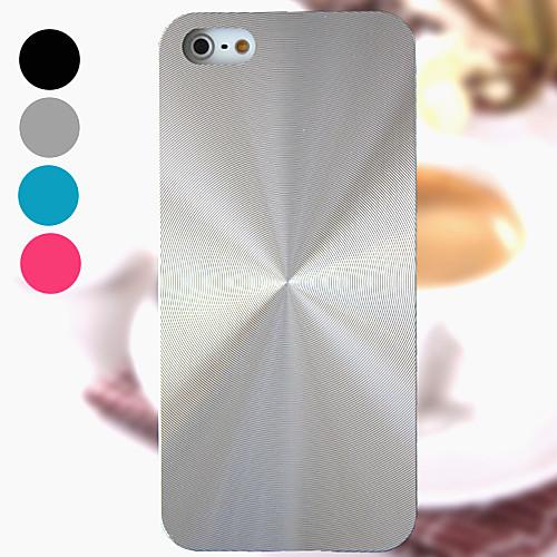 Кейс для Назначение iPhone 4/4S Apple Кейс на заднюю панель Твердый Алюминий для iPhone 4s/4