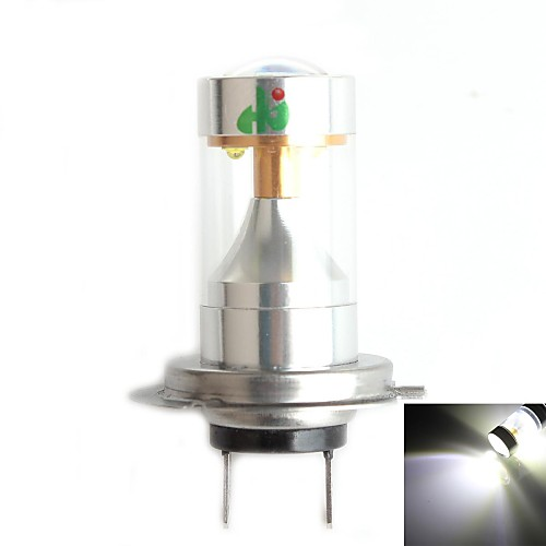 HJ h7 30w 2800lm 6000-6500K 6xcree XB-d светодиодный Белый свет лампы для автомобилей противотуманные фары (12-24В, 1 шт)
