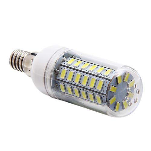 5W E14 LED лампы типа Корн T 56 светодиоды SMD 5730 Естественный белый 450lm 6000-6500K AC 220-240V