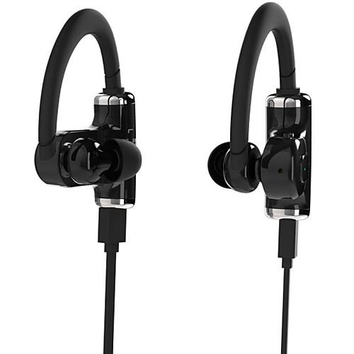 ROMAN S530 Наушники с креплением крючкомForМедиа-плеер/планшетный ПК / Мобильный телефонWithС микрофоном / Спортивный