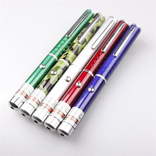 Pen Shaped Лазерная указка 532nm Aluminum Alloy