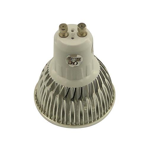 4W GU10 Точечное LED освещение 4 Высокомощный LED 360-400 lm Тёплый белый / Холодный белый / Естественный белый Регулируемая AC 110-130 V от MiniInTheBox.com INT