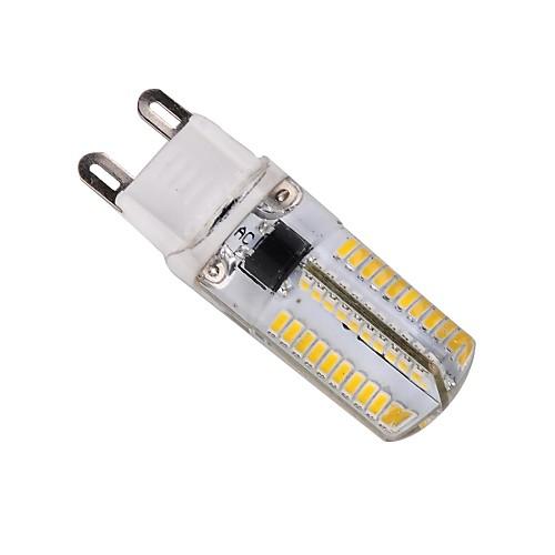 ywxlight g9 привело кукурузные огни 80 светодиодов smd 3014 с регулируемой яркостью теплый белый холодный белый 400lm 2800-3200k ac 220-240v от MiniInTheBox.com INT