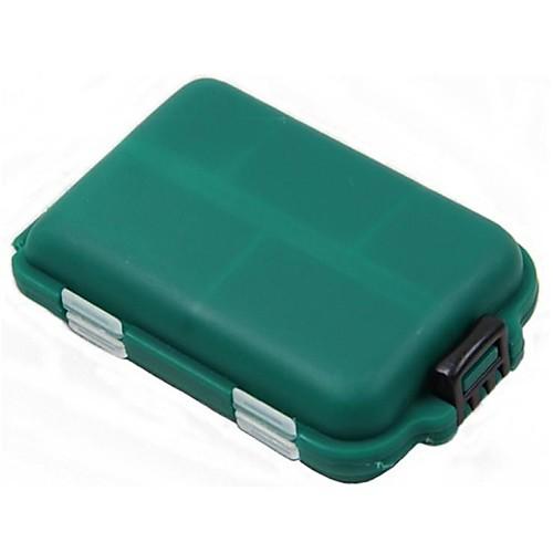 Коробки для рыболовных снастей Коробка для мормышек Водонепроницаемый Жесткие пластиковые 9.56,5 см2.7