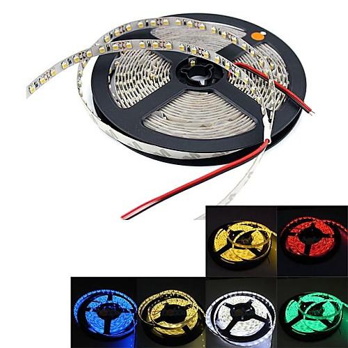 Гибкие светодиодные ленты 300 светодиоды Тёплый белый Белый Зеленый Желтый Синий Красный DC 12 В DC 12V