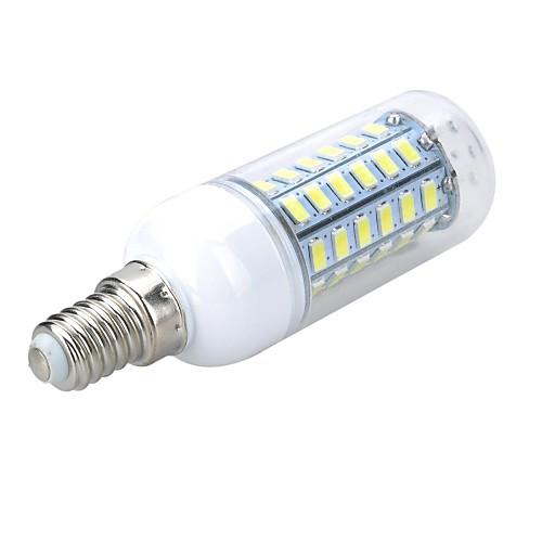 5 Вт. 500-600 lm E14 LED лампы типа Корн T 56 светодиоды SMD 5730 Тёплый белый Холодный белый AC 220-240V