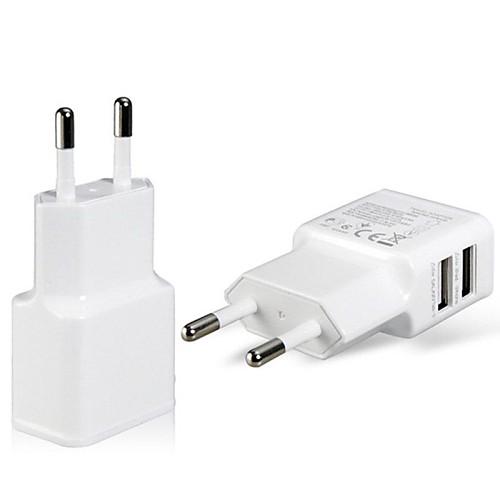 USB адаптер питания, зарядное устройство с вилкой европейского для IPad, IPhone и Samsung
