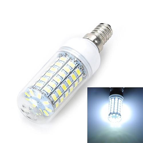 1 шт. E14 / E26/E27 12W 69 SMD 5730 1100-1200 lm Тёплый белый / Холодный белый T LED лампы типа Корн AC 220-240 V <br>