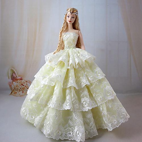 Бальное платья для куклы