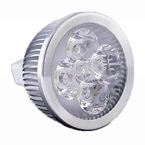 1шт 5 Вт. 500 lm GU5.3(MR16) Точечное LED освещение MR16 4 светодиоды Высокомощный LED Диммируемая Тёплый белый Холодный белый