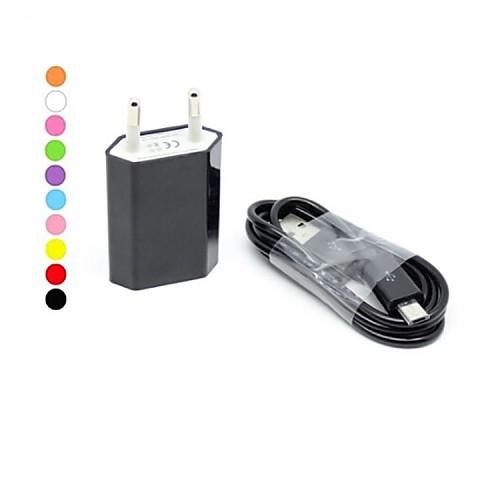 Зарядное устройство для дома Портативное зарядное устройство Телефон USB-зарядное устройство Евро стандарт Зарядное устройство и cabos usb cавтомобильное зарядное устройство с зажигалкой