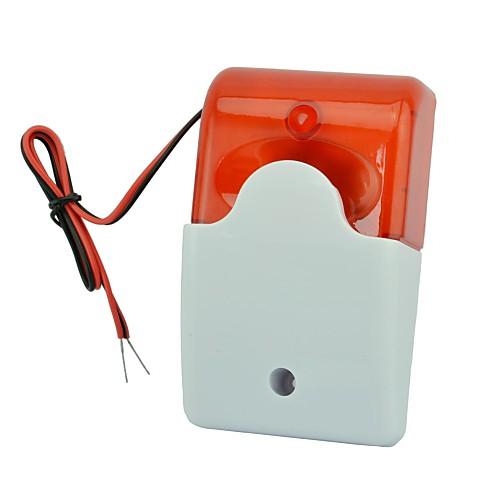 акустооптическая тревоги HC-103 кабель 12v акустооптическая сирена динамик