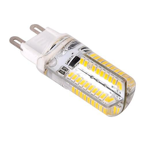 4W G9 LED лампы типа Корн T 80 SMD 3014 400 lm Тёплый белый / Холодный белый Регулируемая AC 220-240 V
