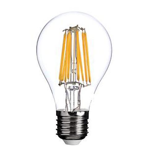 ON E26/E27 8W 8 COB 800 LM Тёплый белый A60(A19) edison Винтаж LED лампы накаливания AC 220-240 V <br>