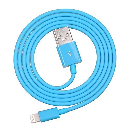 MFI сертифицированных молнии 8-контактный синхронизации данных и зарядное устройство USB кабель для iphone 7 6s 6plus SE 5S 5 Ipad кабеля (100см) от MiniInTheBox.com INT
