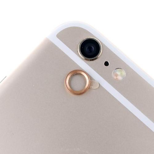 Стеклянный зашитый объектив с металлическим кольцом для камеры заднего вида  IPhone 6 от MiniInTheBox.com INT