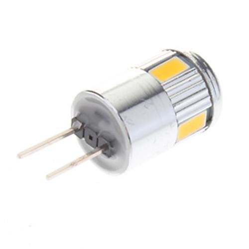G4 Точечное LED освещение 6 SMD 5730 220 lm Тёплый белый Холодный белый AC 12 V 10 шт. цена