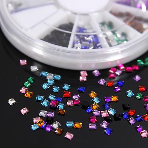 1 комплект Особые случаи Пластик Драгоценные камни