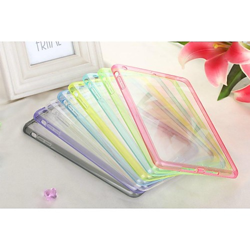 Transparent Hard PC Cover Case for iPad mini 2 (Assorted Colors)