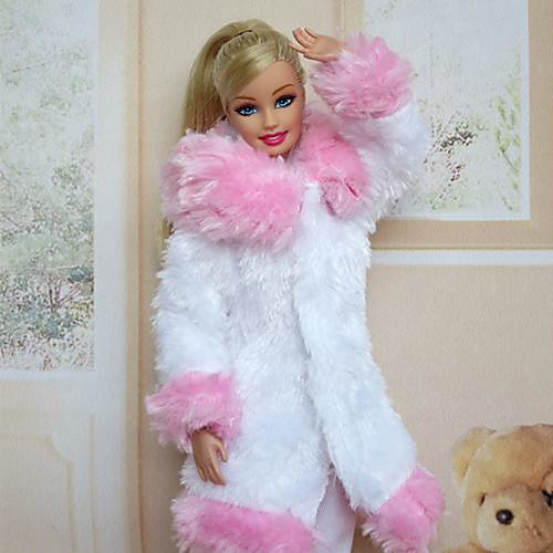 На каждый день Платья Для Кукла Барби Бархат Satin Платье Для Девичий игрушки куклы