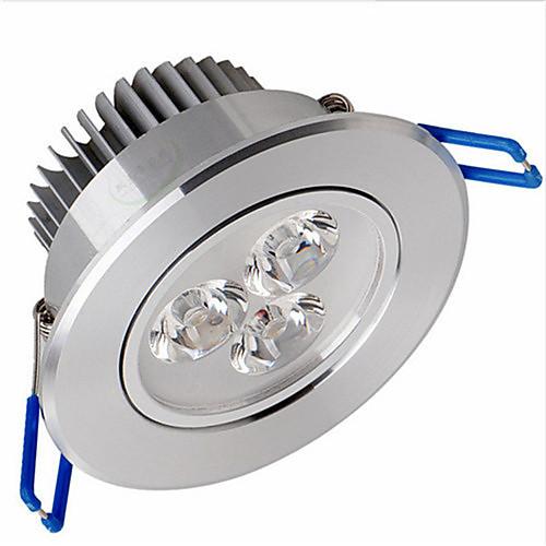 3w 200-250lm 3000-3500k теплый белый Светодиодная панель фонари светодиодные потолочные светильники (220В)