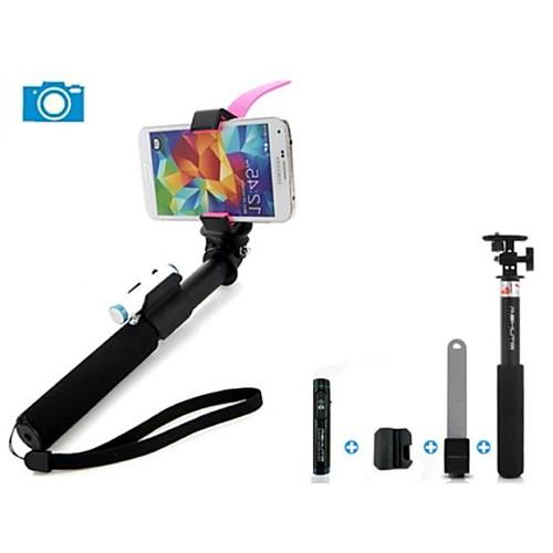 ashutb выдвижной Bluetooth монопод Селфи палки для андроид, IOS телефонов и GoPro камеры