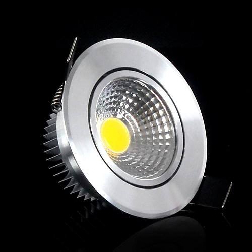 5w 400-500lm 3000-3500k теплый белый поддержка цвет затемнения COB светодиодный индикаторы панели Светодиодные потолочные светильники (220В)