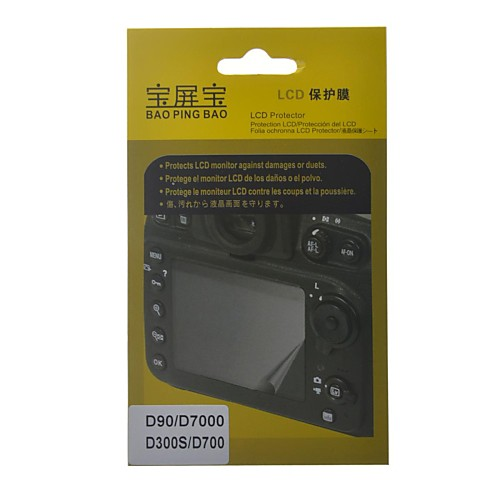 ЖК-протектор для Nikon D90 / D7000 / D300S / D700 камера