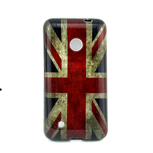 4-дюймовый флаг шаблон ТПУ мягкий чехол задняя крышка для Nokia Lumia 530