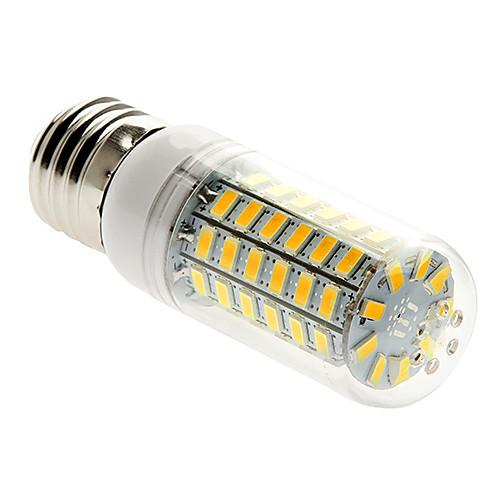 5 Вт. 450 lm E26/E27 LED лампы типа Корн T 69 светодиоды SMD 5730 Тёплый белый AC 220-240V