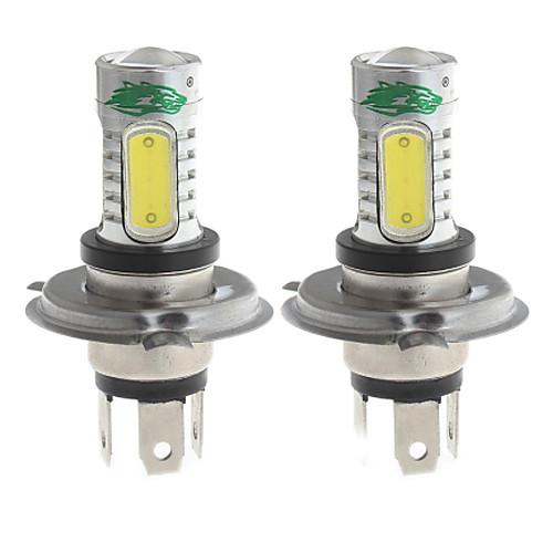 zweihnder h4 15w 1450lm 6000-6500K 5xcob светодиодный Белый свет лампы для автомобилей Foglight (12-24, 2 шт)