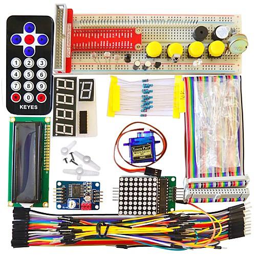 Базовый комплект обучения для Raspberry Pi B корпус raspberry pi 3 pi 2 black овальный