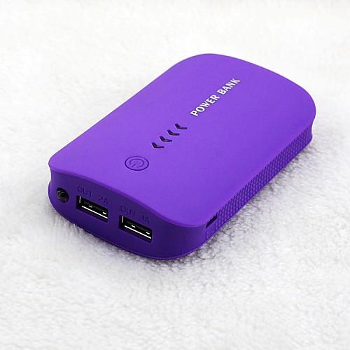 Портативный внешний аккумулятор для IPhone6 / 6plus / 5 / 5S Samsung S4 / 5, 8800mAh от MiniInTheBox.com INT