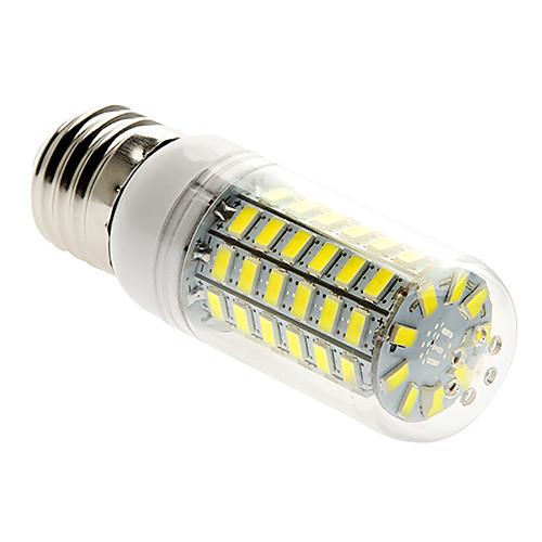 400 lm E26/E27 LED лампы типа Корн T 69 светодиоды SMD 5730 Тёплый белый Холодный белый AC 220-240V