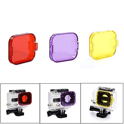 Погружение фильтр Для Экшн камера Gopro 5 Gopro 3 Gopro 2 Дайвинг пластик фильтр на приус 23300 74330