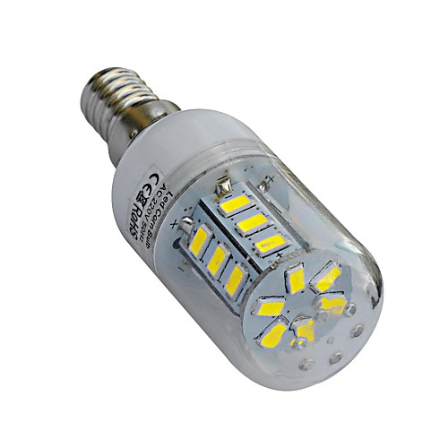 320-360lm lm E14 LED лампы типа Корн T 24 светодиоды SMD 5730 Тёплый белый Холодный белый AC 220-240V