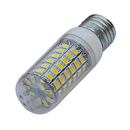 3000-3200/6000-6500 lm E26/E27 LED лампы типа Корн T 69 светодиоды SMD 5630 Тёплый белый Холодный белый AC 220-240V