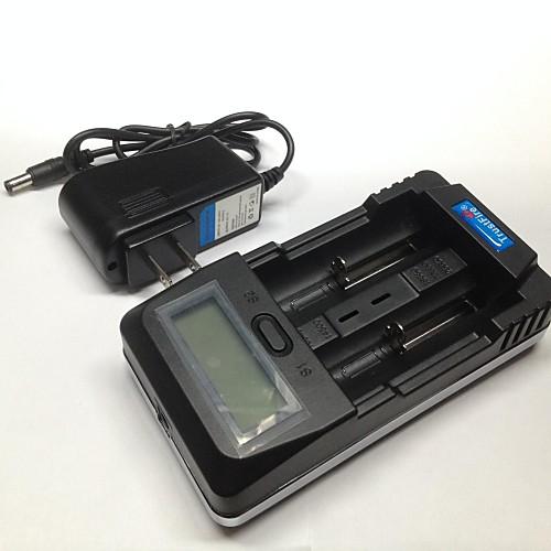 TrustFire TR-011 в режиме зарядки смешивают charging.constant напряжения цифровой lnteligent зарядное устройство  автомобильное зарядное устройство