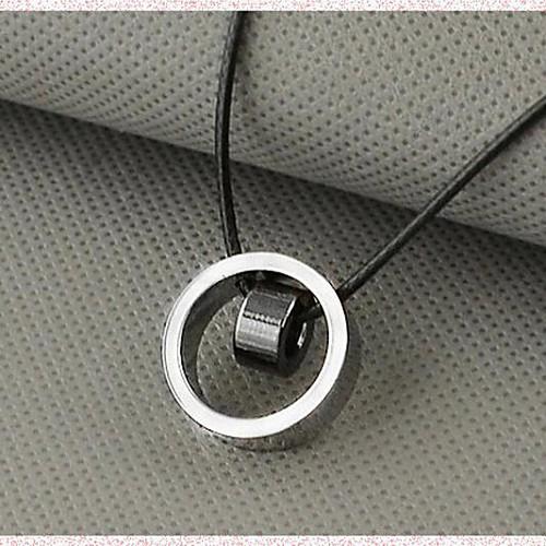 Муж. Ожерелья с подвесками - На заказ, Уникальный дизайн, Мода Белый, Черный, Желтый Ожерелье Назначение Новогодние подарки, Подарок, Повседневные бижутерия в подарок
