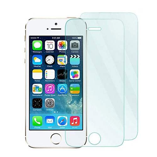 Защитная плёнка для экрана Apple для iPhone 6s Plus iPhone 6 Plus iPhone SE/5s Закаленное стекло 2 штs Защитная пленка для экрана защитная пленка для мобильных телефонов apple iphone 5 5s 5c