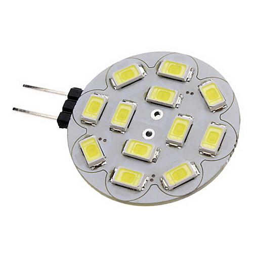 2 Вт. 180-210 lm G4 Точечное LED освещение 12 светодиоды SMD 5730 Тёплый белый Холодный белый DC 12V