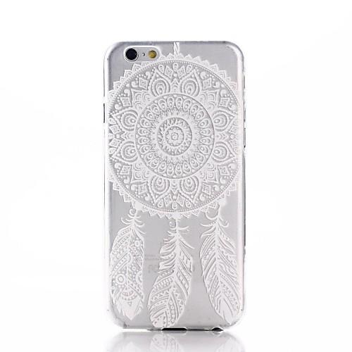 Ультра тонкий мягкий чехол, стильный принт Ловец Снов, для IPhone 6 / 6S