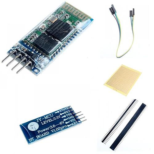 все цены на HC-06 Беспроводная связь Bluetooth трансивер РФ Основные аксессуары Модуль для Arduino