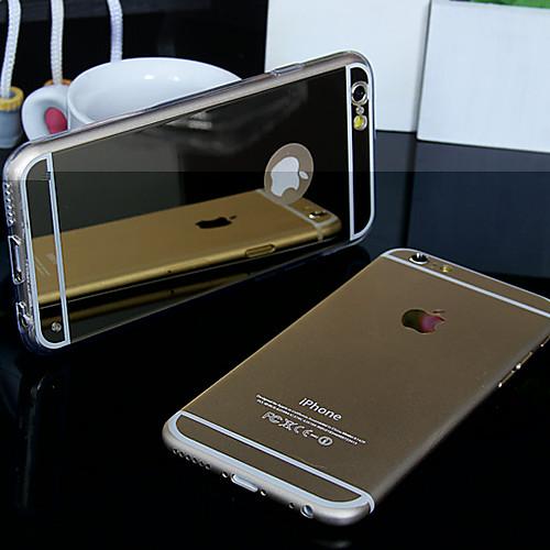 роскошь зеркало задняя крышка для iphone 6с 6 плюс