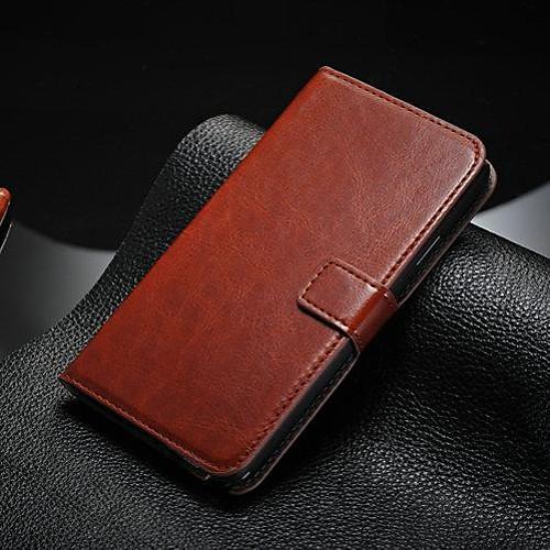 Кейс для Назначение SSamsung Galaxy Samsung Galaxy Note Бумажник для карт / со стендом / Флип Чехол Однотонный Кожа PU для Note 5 / Note 4 / Note 3 фото