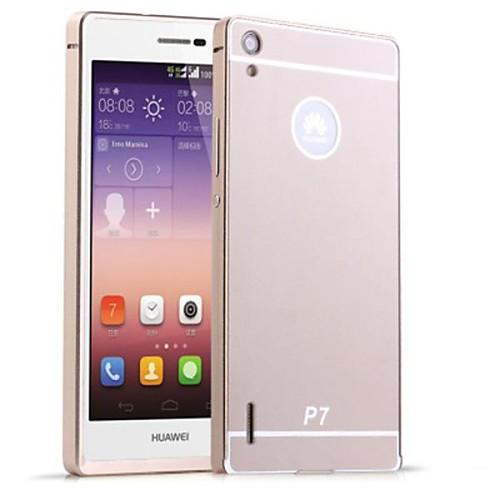 Для Кейс для Huawei Покрытие Кейс для Задняя крышка Кейс для Один цвет Твердый Акрил Huawei Huawei P7 стоимость
